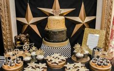 If you're planning to roll out the red carpet in celebration of a special boy's birthday, you definitely want to check out this boy's Hollywood movie themed birthday party!  A lover of Hollywood glitz and glamour, Toni of Creative Designs by Toni, planned this star-studded event for her seven-year-old son who also loves movies. Toni took a creative approach to this theme, incorporating a lot of black and gold into the party decorations, birthday cake and even the party favors. Get…