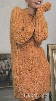 Красивое платье. с описанием и схемами