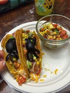 Spider Tacos & Homemade Salsa