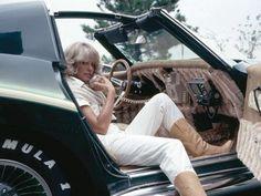 """Farrah Fawcett's George Barris-designed """"Foxy 1970 Corvette"""""""
