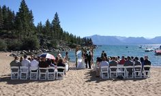 Lake Tahoe Weddings - Round Hill Pines Beach . . . . . this seems to  be the most affordable Tahoe option  50 people weekday/100 weekend