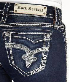 'Rock Revival Vivian Ankle Skinny Stretch Jean' #buckle #fashion www.buckle.com