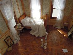 Lindo quarto, iluminado!
