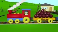 The Fruit Train 2 - Learning for Kids, via YouTube.