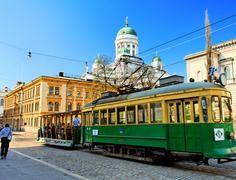 Museum tram in Helsinki / Niclas Sjöblom