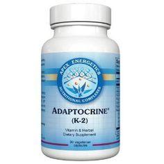 Amazon.com: Apex Energetics - Adaptocrine (K-2) 90 Capsules: Health & Personal Care
