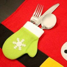 10PCS Christmas Dinner Napkin Table Cloth #women, #men, #hats, #watches, #belts