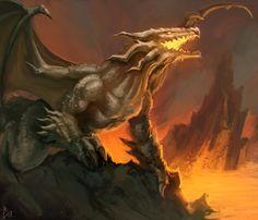 Ancient dragon by ArtDeepMind.deviantart.com on @DeviantArt