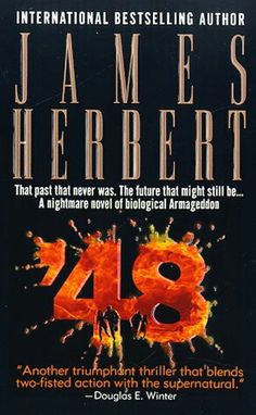 ** by James Herbert English Horror, James Herbert, Books To Read, My Books, Suspended Animation, Horror Books, Cool Books, Printed Pages, I Love Reading