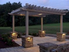 67 Nice Gazebo Backyard Garden Landscaping Design Ideas #gazebo #backyardgarden #gardenlandscaping ...mance.Although many different pergola ideas are available for all tastes and landscapes every shelter is still made with the same three elements. Thi...anning is essential. If you wish to construct a pergola but need some help coming up with pergola ideas there are places online that can help you. Usu #diy.diypergoladesigns.com #landscape-pergola-plans #pergolas Building A Pergola, Wooden Pergola, Outdoor Pergola, Backyard Pergola, Backyard Landscaping, Landscaping Design, Backyard Ideas, Garden Gazebo, Garden Ideas