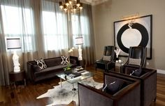 T Eatons Living Room - contemporary - living room - other metro - by Atmosphere Interior Design Inc. - pretty much my living room set up Hall And Living Room, Living Room Photos, Rugs In Living Room, Living Room Designs, Living Room Decor, Condo Living, Dining Room, Houzz, Avantgarde