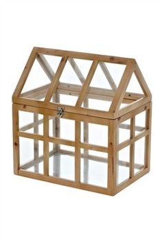 Buy Terranium from the Next UK online shop mini indoor greenhouse, wood and glass £45 H38xW24xD35