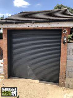 Roller shutter garage doors are incredibly stylish. Included in your new garage door cost is more than just the roller doors. Click the link to see more about our roller door service. Garage Door Installation, Garage Door Rollers, Roller Doors, Home Exterior Makeover, Roller Shutters, Garage, Garage Door Colors, Doors, Shutters