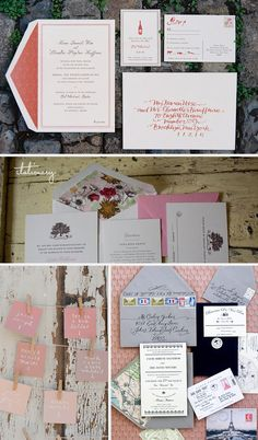 Gorgeous stationary for wedding invitations!