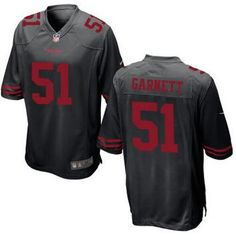 Men's San Francisco 49ers Retired Player #53 Bill Romanowski Black NFL Nike Elite Jersey