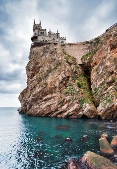 The Swallow's Nest, Yalta, Ukraine   14 of the Most Amazing Fairy Tales Castles you should See in a Lifetime
