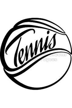 Tennis Text Ball by Sports Art Zoo Tennis Shop, Tennis Party, Tennis Clubs, Sports Party, Tennis Ball Crafts, Tennis Photography, Tennis Funny, Beach Tennis, Tennis Quotes