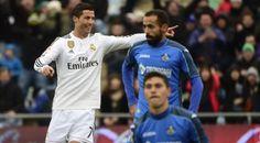 El Madrid golea al Getafe y es campeón de Invierno