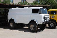 Jeep Forward Control Ambulance
