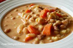 Cizrna je vděčná, výborná a chutná luštěnina. V této polévce vás dokonale zasytí ...