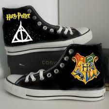 Image result for harry potter shoes converse