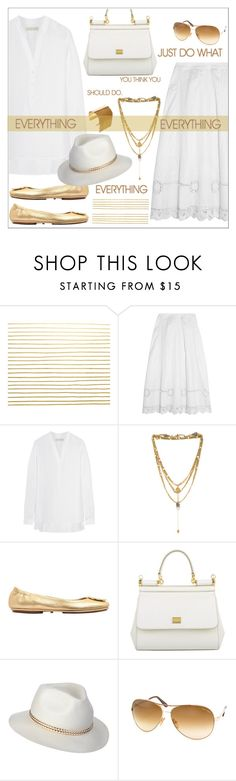 """White Gold"" by biange ❤ liked on Polyvore featuring Temperley London, MICHAEL Michael Kors, Vanessa Mooney, Tory Burch, Dolce&Gabbana, Tom Ford, BCBGMAXAZRIA and Hard Graft"