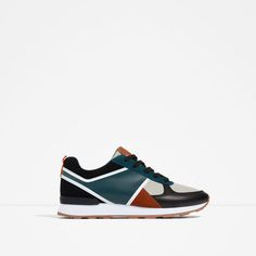 ZARA - SALE - MULTICOLOURED SNEAKERS