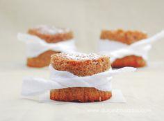 Dulces bocados: Bizcochitos de castañas