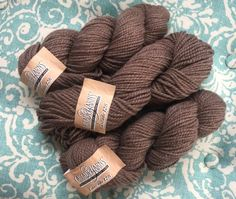 Cascade 128  Wool Bulky Yarn  Color 8013 Walnut by HollyPKnits