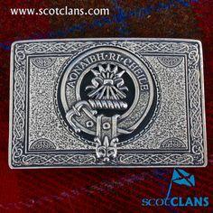 Cameron Clan Crest Belt Buckle
