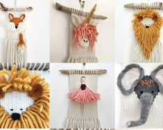 Your place to buy and sell all things handmade Crochet Wall Hangings, Weaving Wall Hanging, Hanging Wall Art, Tapestry Weaving, Loom Weaving, Tapestry Wall, Yarn Crafts, Diy Crafts, Weaving For Kids