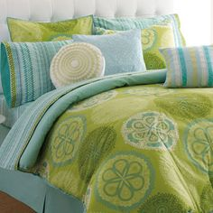 love green and blue colourway ..... maybe for the study??
