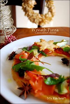 Christmas Dishes, Camembert Cheese, Risotto, Pizza, Meat, Chicken, Ethnic Recipes, Kitchen, Food