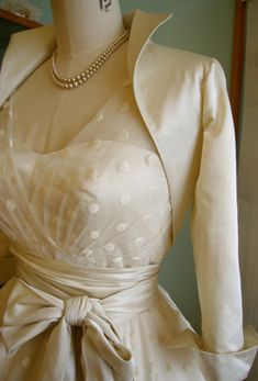 Once Upon A Time Wedding Dresses, by Dana Bolton.. Lovely stand up collar bolero