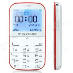 "MELROSE 1310+ 2.3"" Screen Qi Wireless Charge GSM Bar Phone w/ Flashlight, FM, Dual-SIM for Elderly - From 59,= for Euro 30,20"