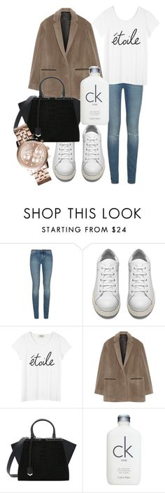 """""""Untitled #2923"""" by dkfashion-658 ❤ liked on Polyvore featuring Yves Saint Laurent, Acne Studios, rag & bone, Fendi, Calvin Klein and Michael Kors"""