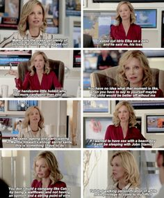 "Cat Grant in ""Hostile Takeover"" #Supergirl #1x08"
