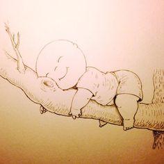 Up A Tree Happy