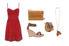 Look en rojo para tus tardes de verano, de @MANGO, @SUITEBLANCO y #Zara