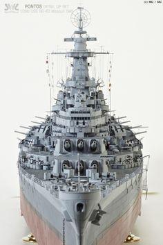 1/200 USS BB-63 MISSOURI 1945
