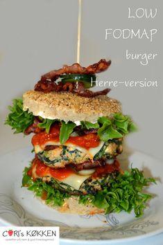 Burger - Low FODMAP