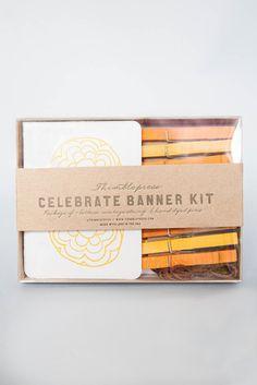 Letterpress Banner Kit – Umba