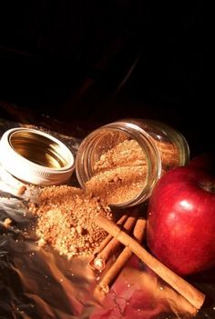 An easy spiced and fruited sugar, which really adds a zing to your apple pies, apple crumbles, cake toppings, baked desserts etc. This spiced sugar mix is based on a 400-year-old English recipe. Spiced sugars were extremely popular in England many centuries ago, they disguised a multitude of sins; and, as spices And citrus fruits were still new And seen as extremely exotic, they were held in high regard and enjoyed especially by Royalty and the Gentry!