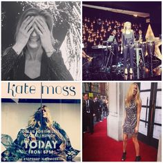 Instagram highlights: Launch Topshop X Kate Moss! Finally the Topshop X Kate Moss collection has arrived! To celebrate the new collection Oxford Circus was the decor of the big launch of the spectacular collection. To launch her latest pride fashion mom Kate Moss hosted the party looking smashing in her own designed look. SEE MORE PICTURES @ http://www.pretamama.com/celebs/6616-instagram-highlights-launch-topshop-x-kate-moss