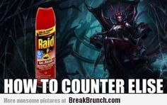 league of legends funny   How to counter Elise – League of Legends – LOL and Funny Picture ...