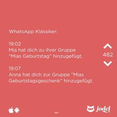 WhatsApp Klassiker ... ^^