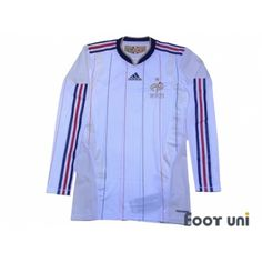 5f221f0eb8d France 2010 Away Techfit Long Sleeve Shirt w tags