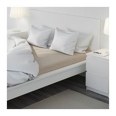 ORDERED MALM Bed frame, high - Queen, Luröy - IKEA