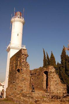Colonia del Sacramento lighthouse, Uruguai.
