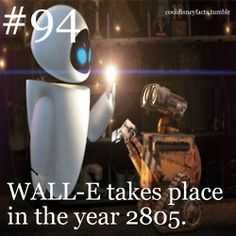 WALL-E takes place in 2805.